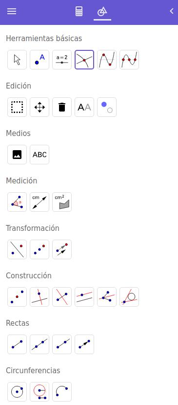 graficador de funciones geogebra