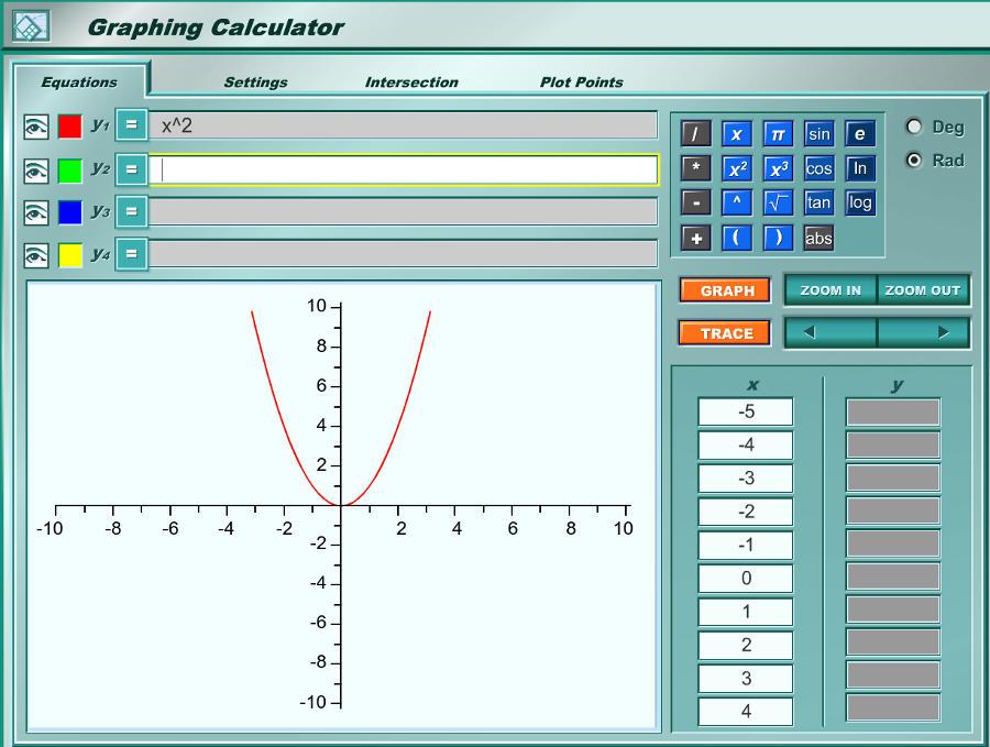 graficador graphing calculator