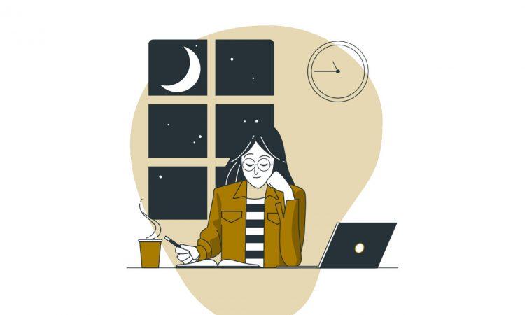 estudiar de noche