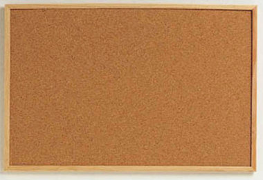 Pizarras y paneles para tu ambiente de estudio mentes - Panel de corcho para pared ...