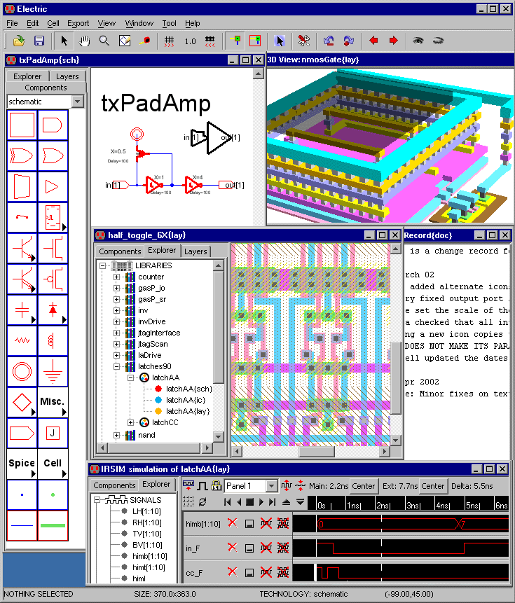 electric software cad