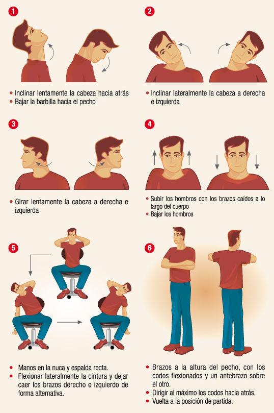Postura Correcta ejercicios columna