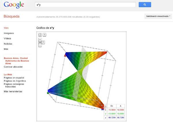 graficador 3d superficies google