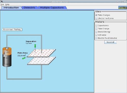 Electricidad y magnetismo - Capacitores
