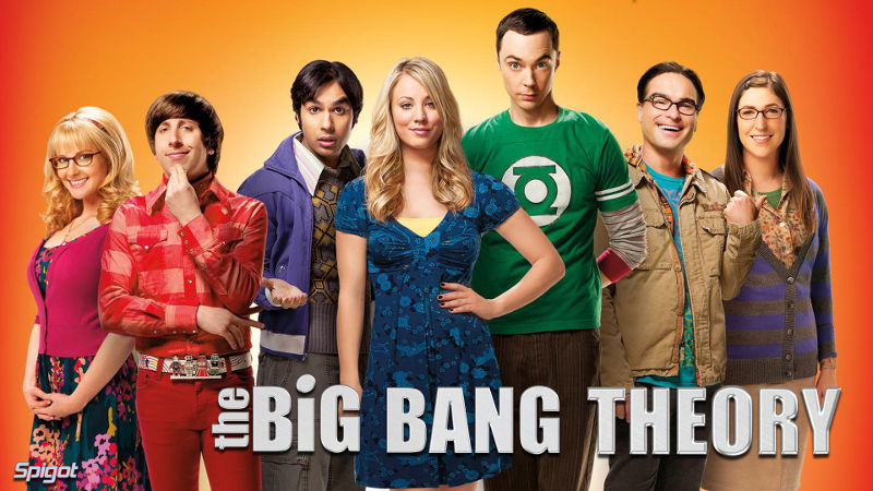 Aprender inglés mirando series con The Big Bangh Theory