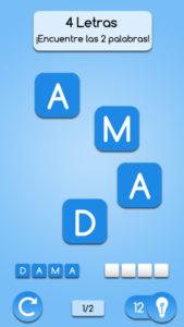 juego de anagramas en español