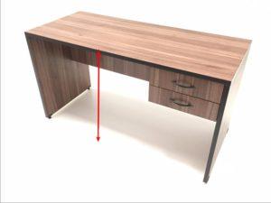 Elegir un escritorio para estudiar - Alto del escritorio
