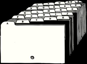 ser organizado archivo carpetas