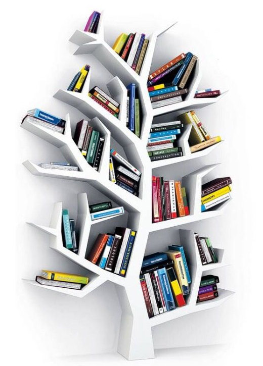 bibliotecas originales arbol