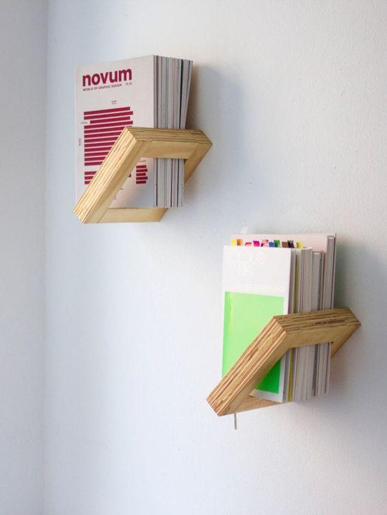 bibliotecas originales creativas minimalista