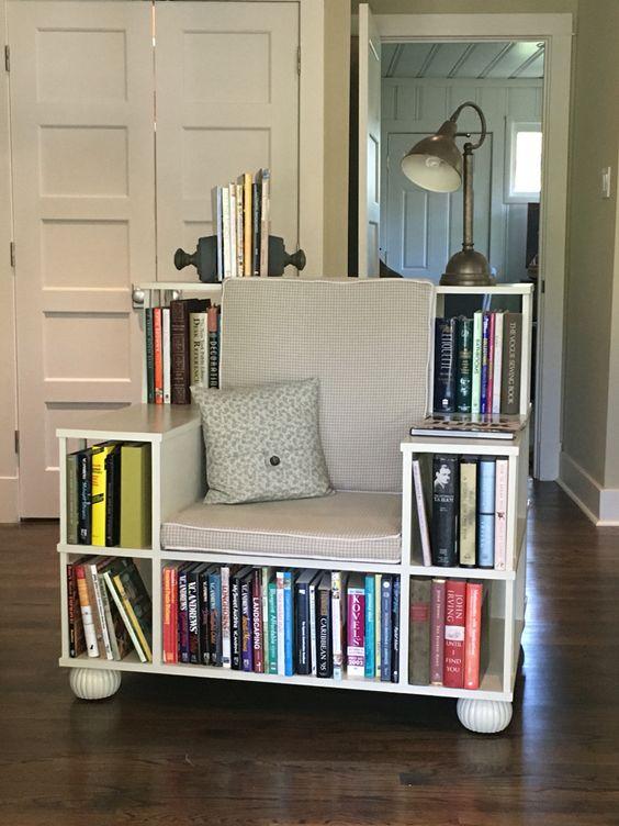 bibliotecas originales sillón