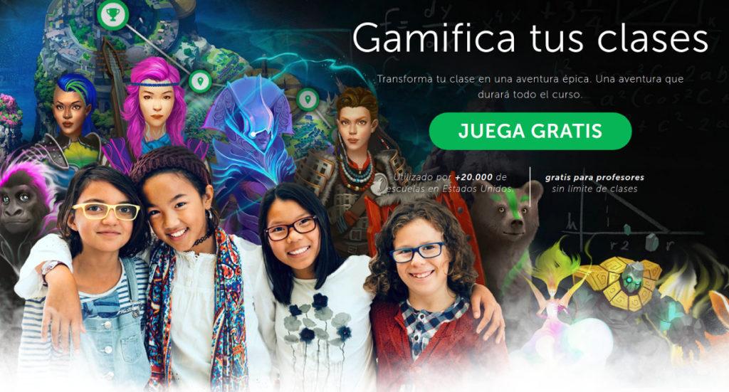 classcraft plataforma educativa gamificación