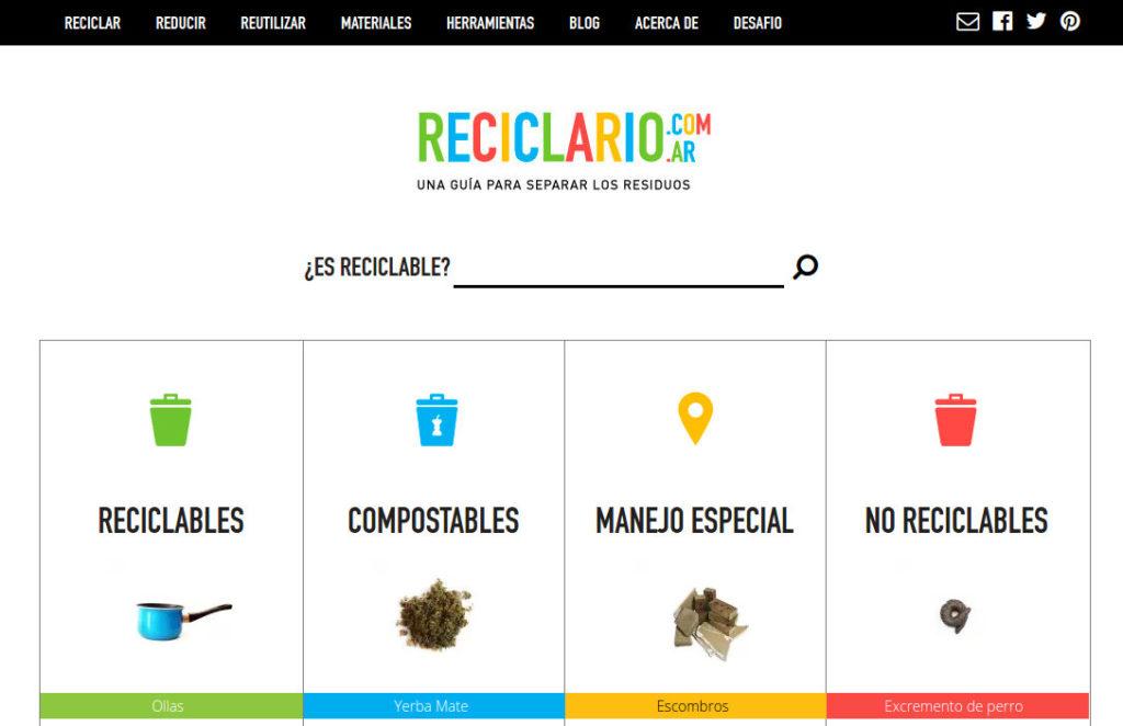 reciclario aprender a reciclar