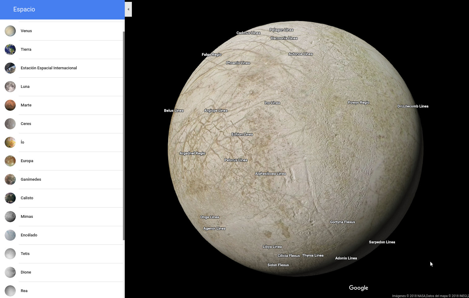 google maps nasa with Explorar Los Pla As Lunas Sistema Solar on Photsed10 also View together with Nachtelijke Aarde Bekijken Met Google Maps besides Nasa Lies Intro To Flat Earth Research History And Conspriacy Part Ii additionally Photsed10.