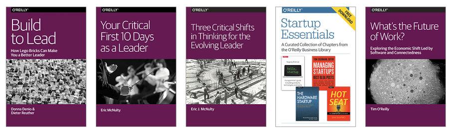 libros gratis de O'Reilly negocios liderazgo