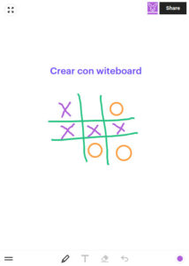 pizarrón colaborativo witeboard