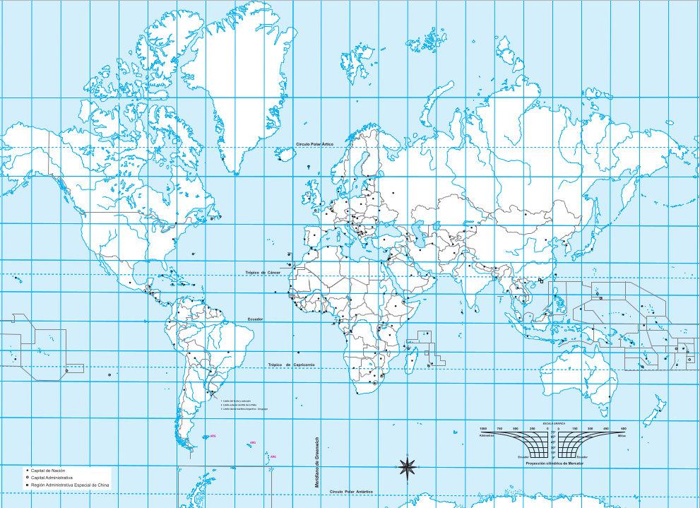 Descarga Gratis Mapas De Argentina America Y El Mundo