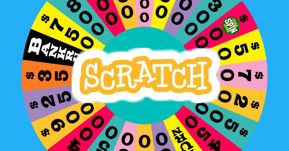 rueda de la fortuna en Scratch