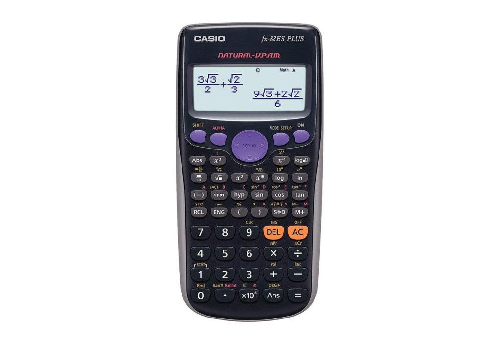 Casio FX-82ES las mejores calculadoras cientificas para estudiantes