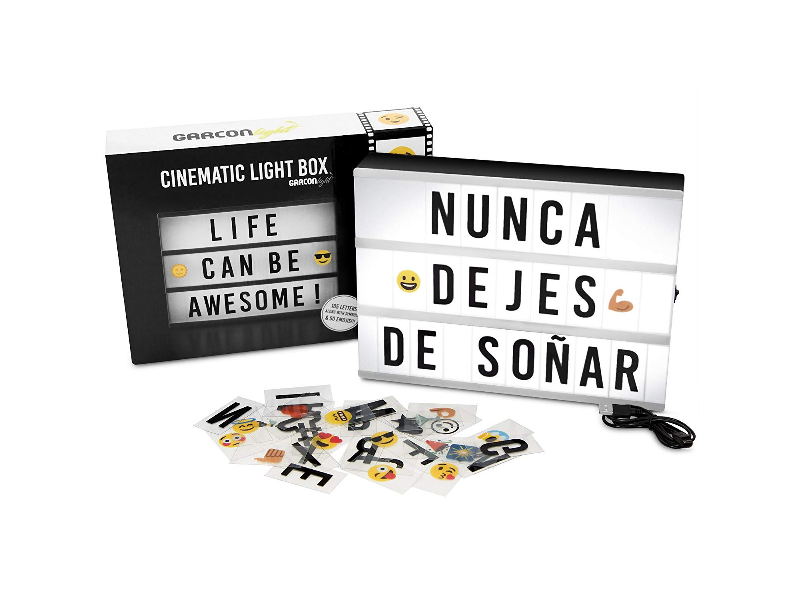 Arma Tus Frases Motivacionales Con Cinematic Light Box