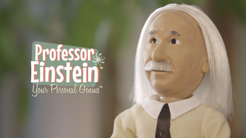 profesor einstein robot