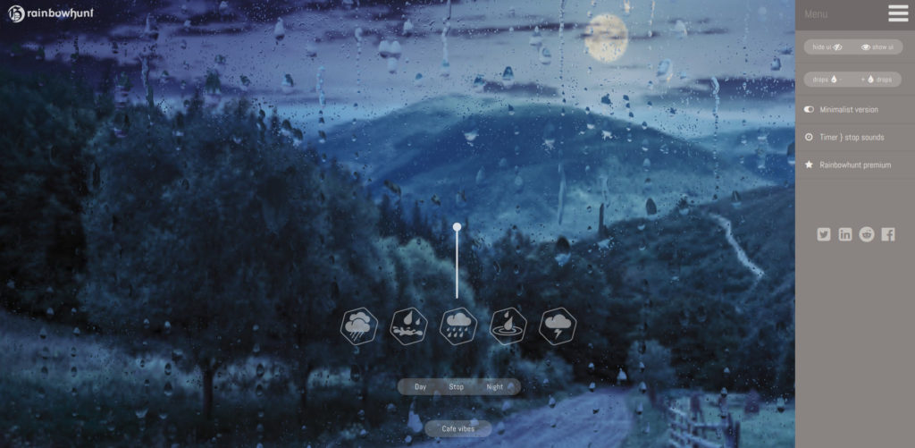 sonido de lluvia para estudiar