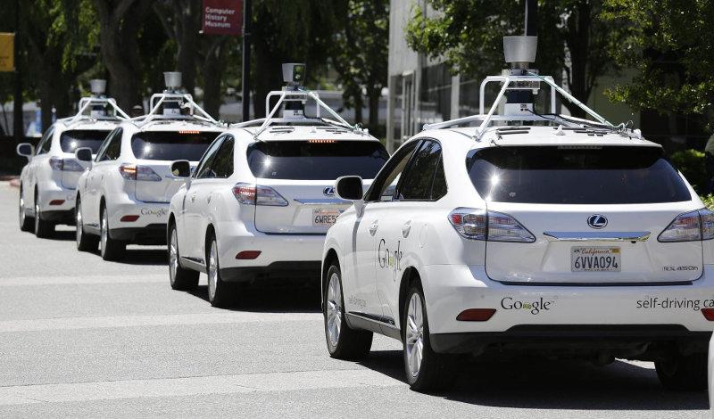 taxis autónomos uber google