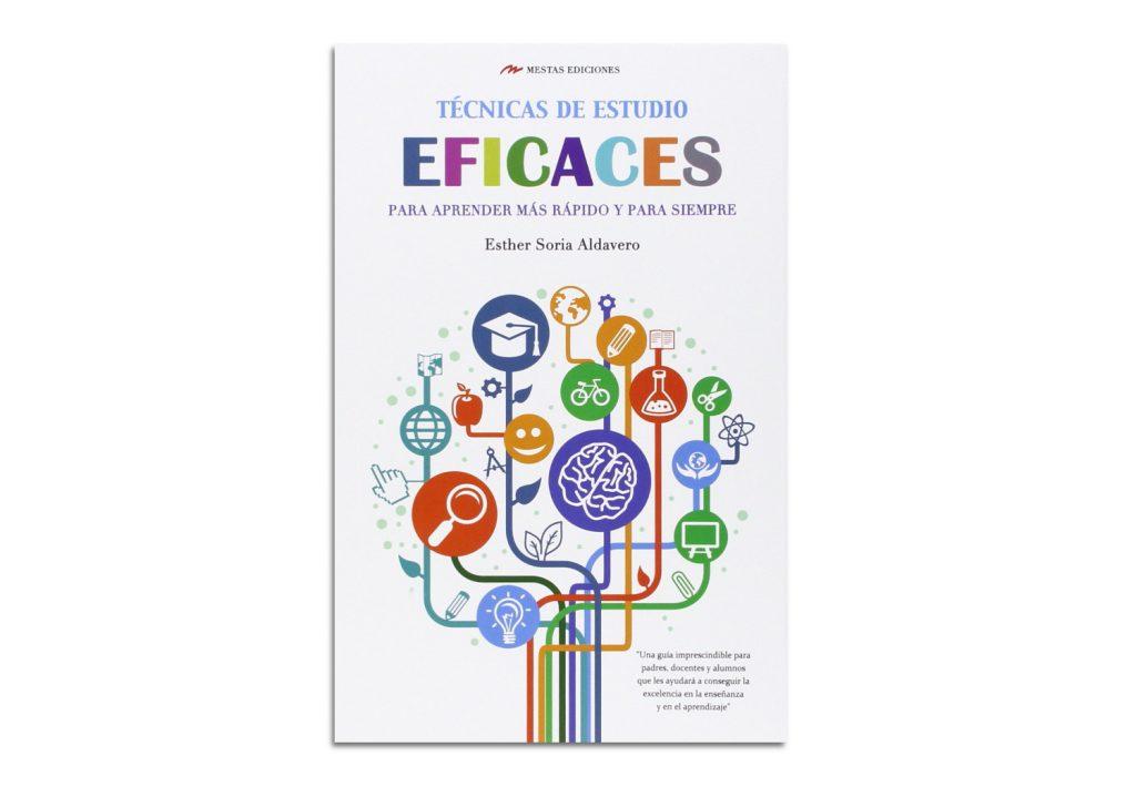 Técnicas de estudio eficaces libro tapa cubierta Esther Soria Alvadero