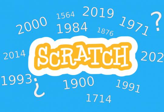 años bisiestos con scratch