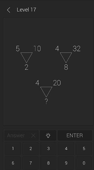 acertijos matemáticos app android test inteligencia