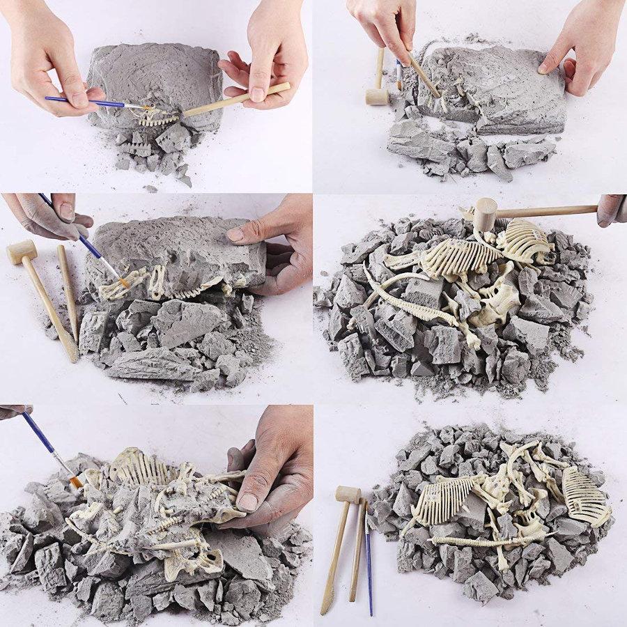 kits de excavación proceso