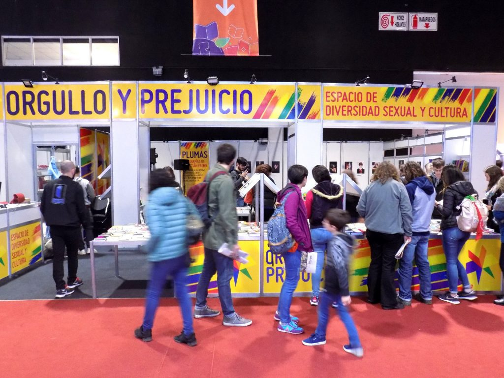 Stand de Diversidad Sexual