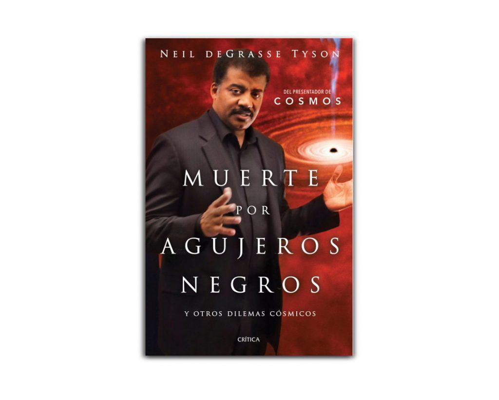 muerte por agujeros negros cubierta libro