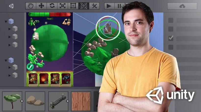 como crear videojuegos 3d con unity