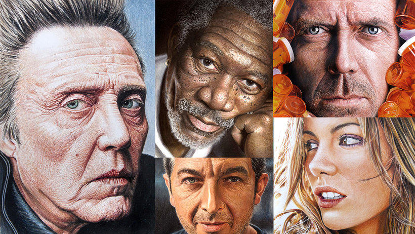Dibujar retratos realistas