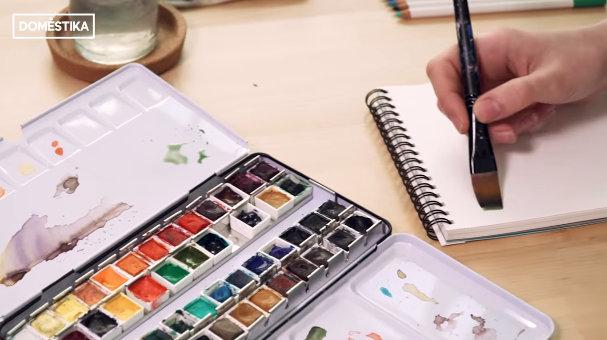Aprender a pintar con acuarelas