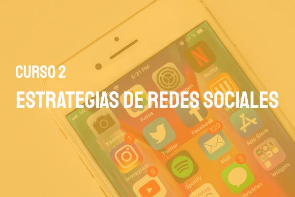 estrategias de redes sociales curso online marketing digital