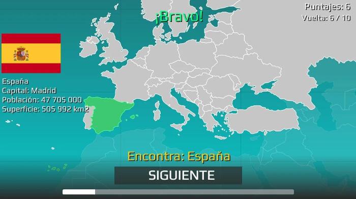 Mapa del mundo Quiz