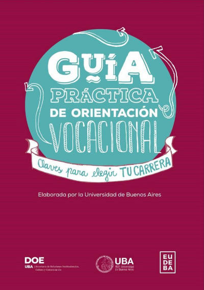 guía práctica de orientación vocacional