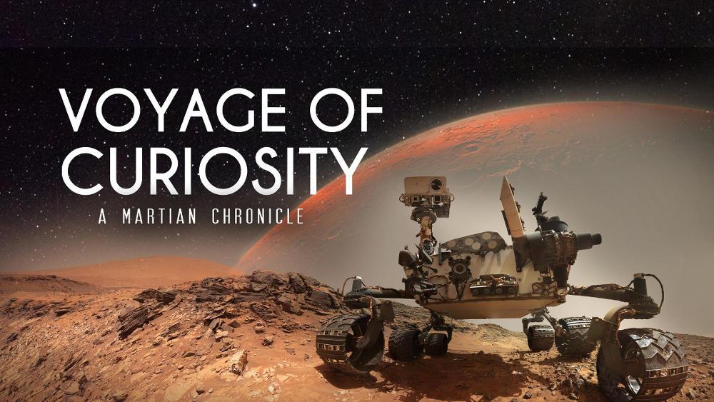 viaje de curiosity