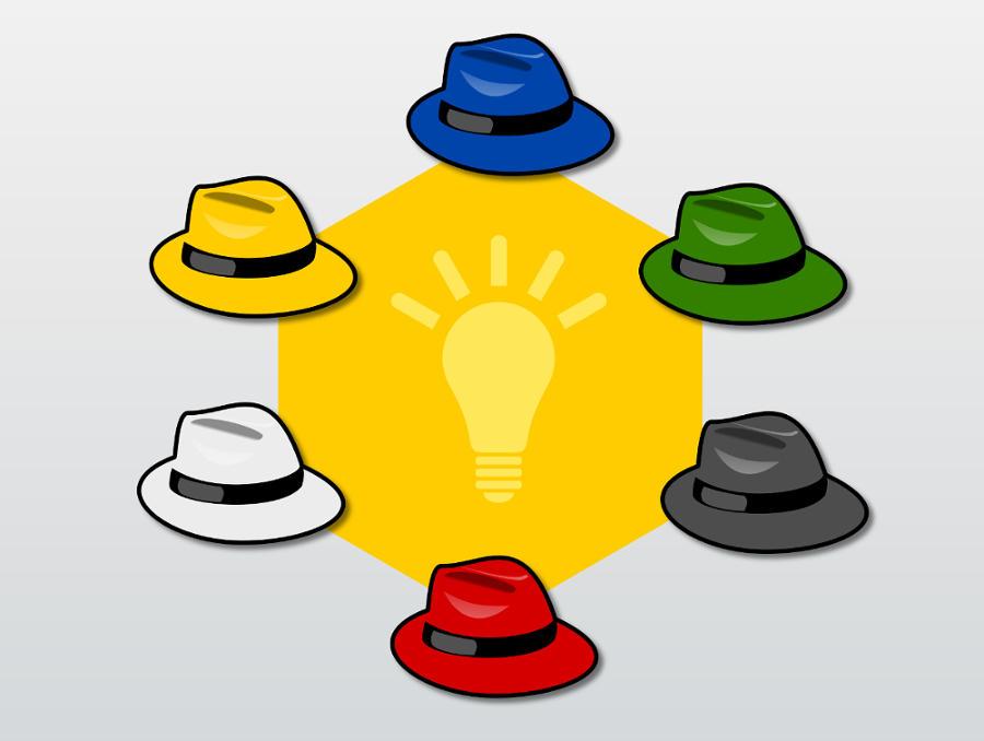 La técnica de los 6 sombreros para pensar, de Edward De Bono