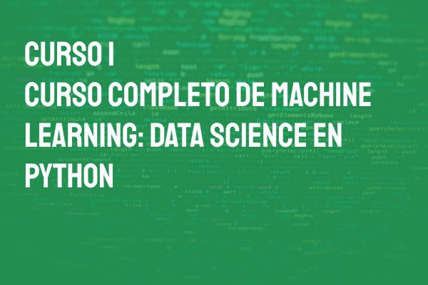 cursos online de machine learning curso