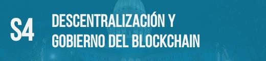descentralización blockchain